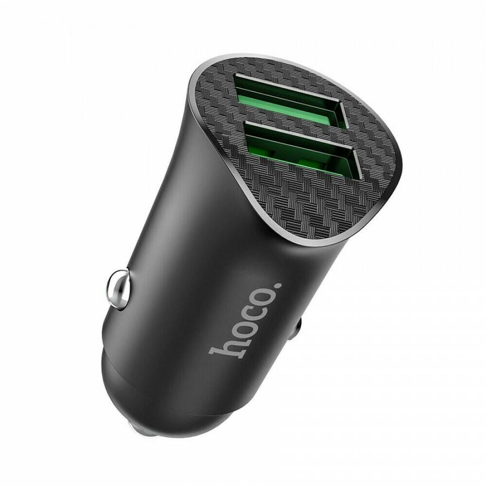 Автомобильный адаптер Hoco Z39 на 2 USB