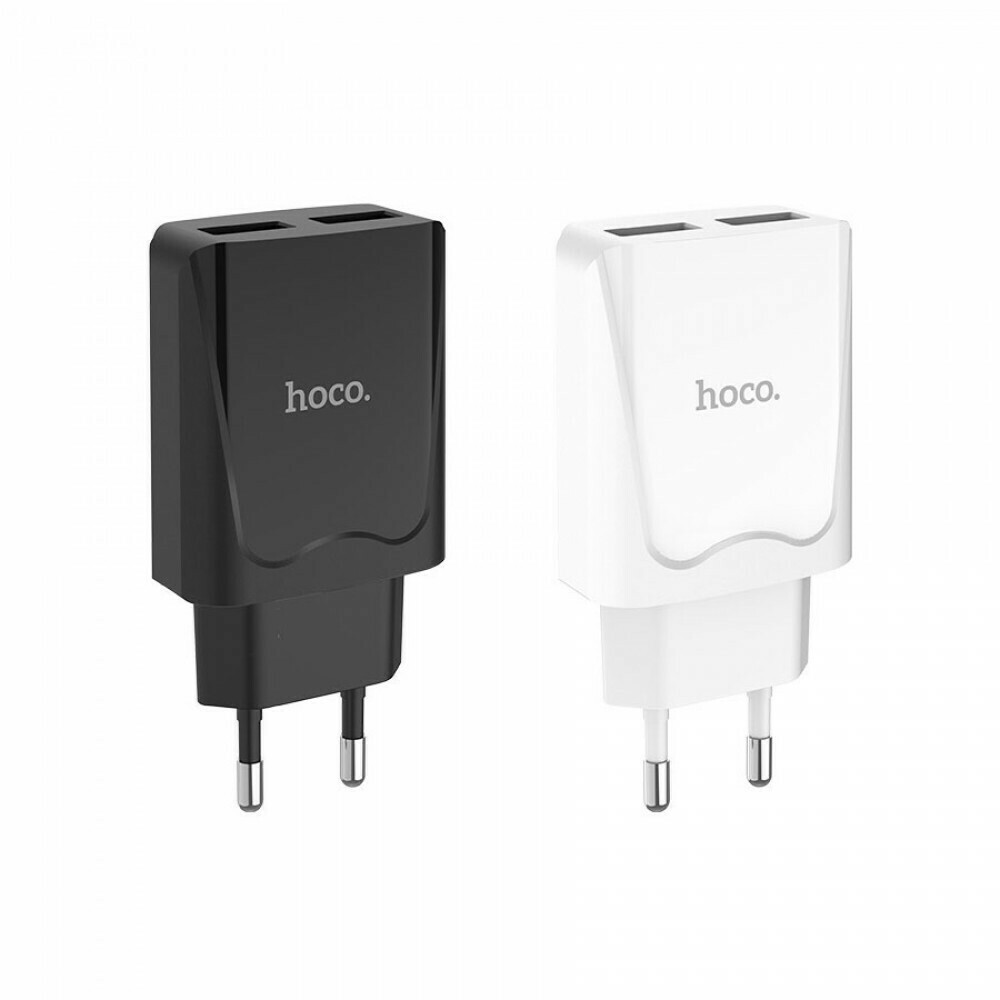 Сетевой адаптер Hoco C52A на 2 USB 2.1 А