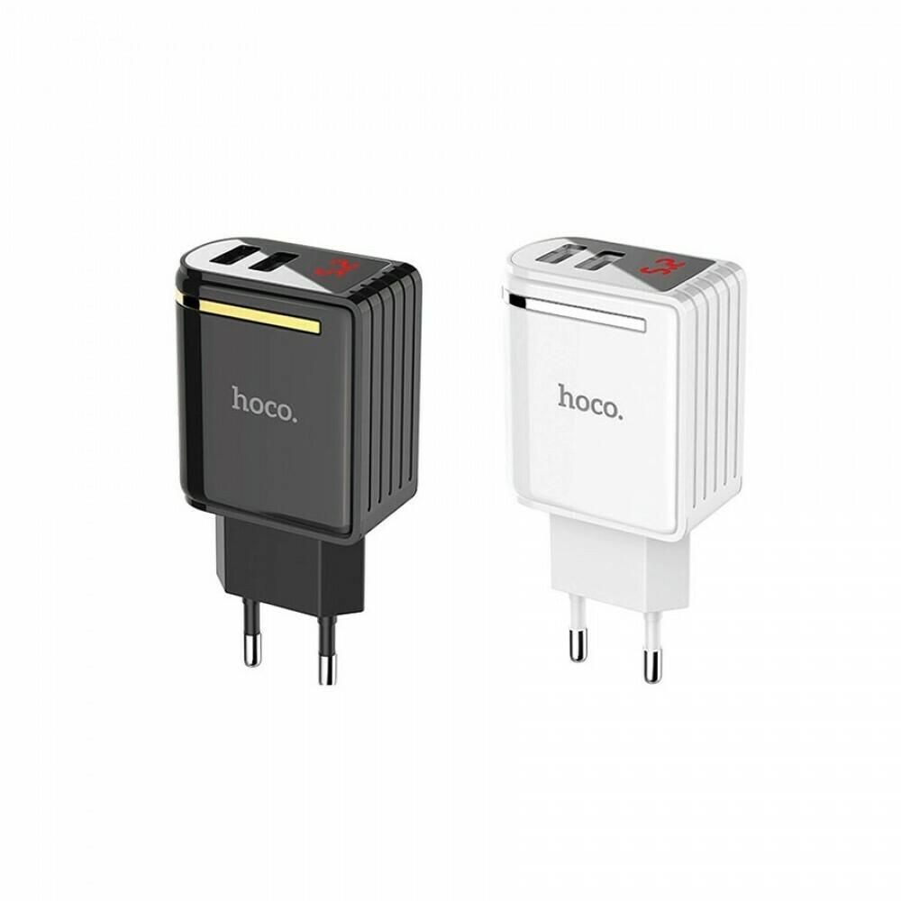 Сетевой адаптер Hoco C39A на 2 USB 2.4 А