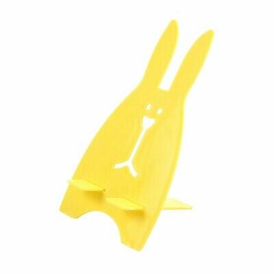 Подставка для телефона Кролик, Желтый арт. 012252
