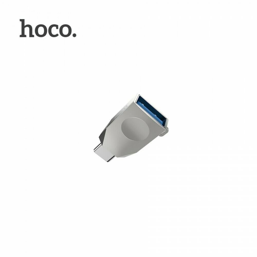 OTG адаптер Hoco UA9 Type-C