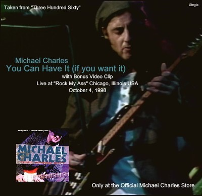 You Can Have it (if you want it) [Audio / Video Single]