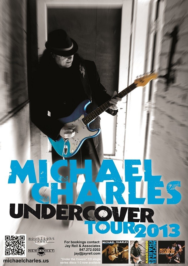 Under Cover Tour 2013 / Tour Poster