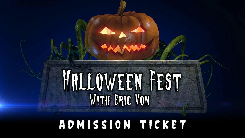 Halloween Fest Admission Ticket