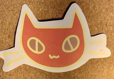 Rotom Cat Paper Sticker