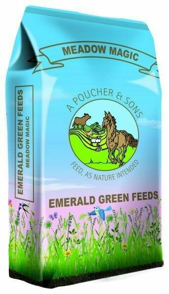 Emerald Green Meadow Magic Pellets 20Kg