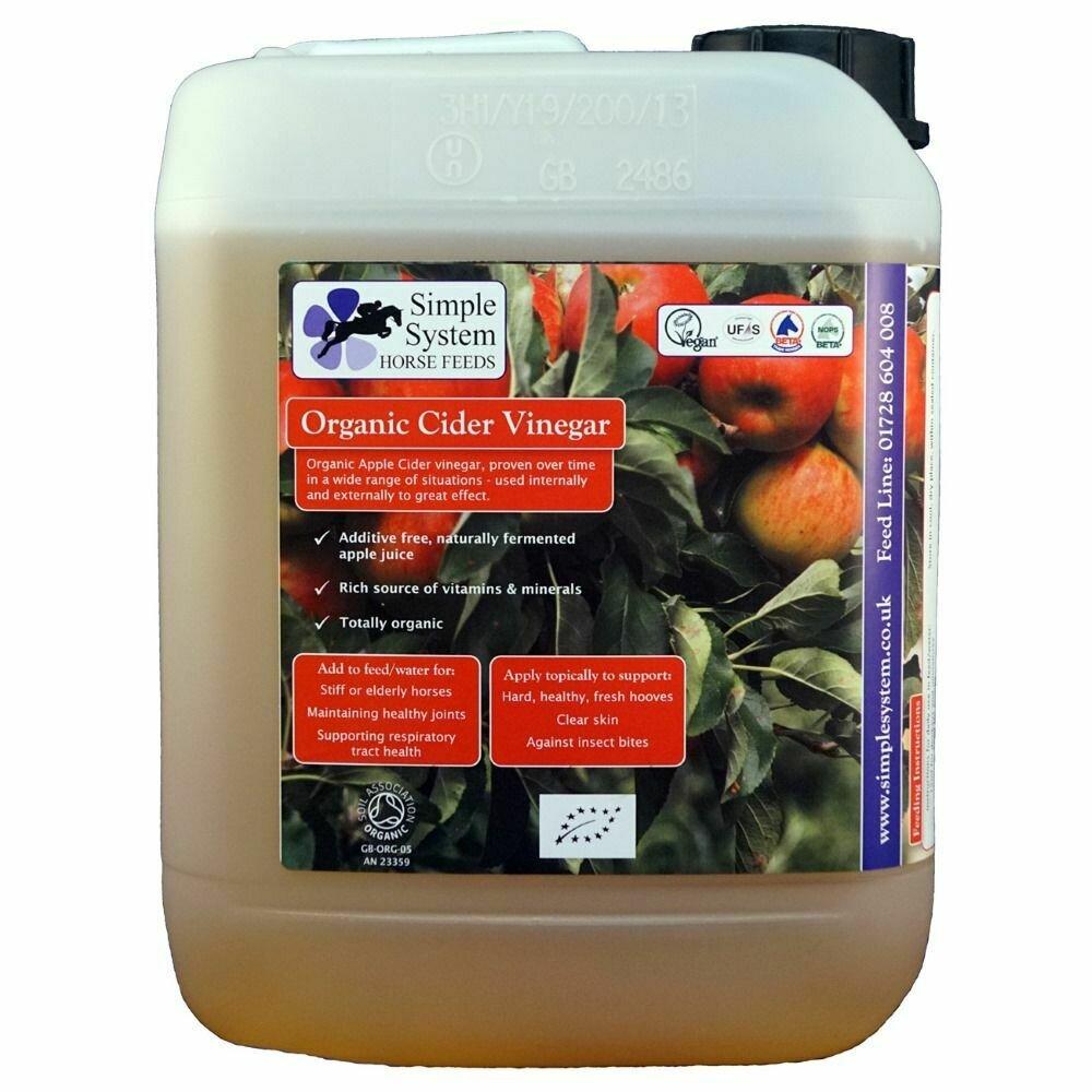 Simple System Organic Cider Vinegar 5L