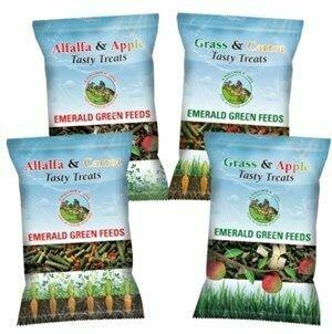 Emerald Green Alfalfa & Carrot Tasty Treats 290g