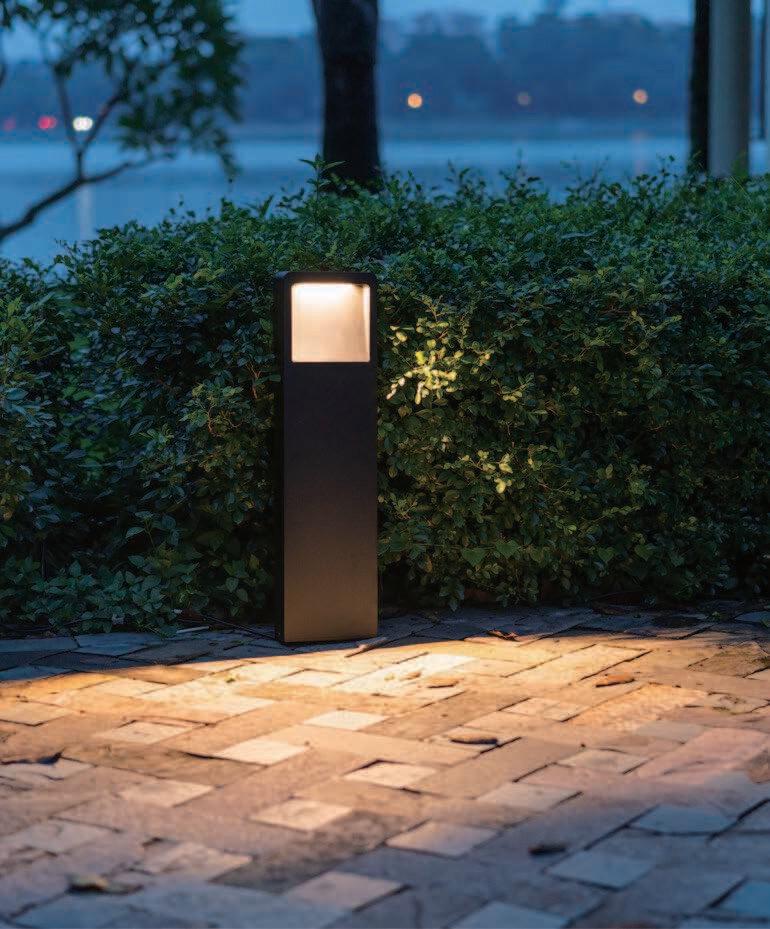 ProLuce® LATENT Pollerleuchte 160x55x600mm, 10W, schwarz