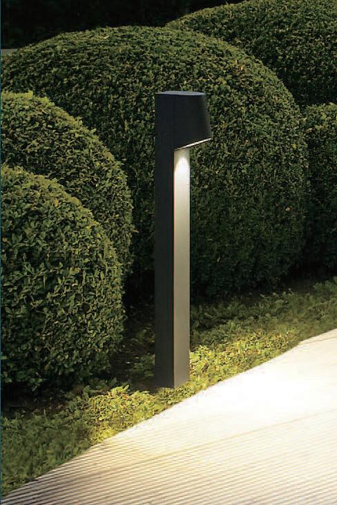 ProLuce® POINT Pollerleuchte 100x120x600mm, 7W, schwarz