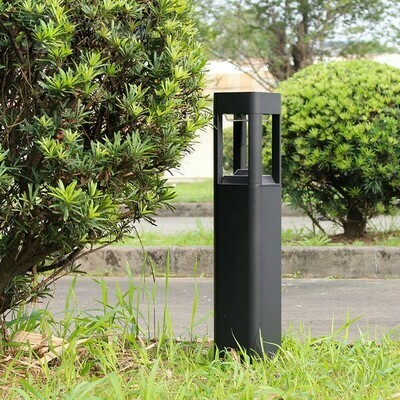 ProLuce® ATLAS Pollerleuchte 120x120x900mm, 10W, grau, höhe Säule