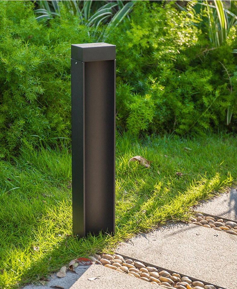 ProLuce® CASTOR Pollerleuchte 105x80x600mm, 10W, kaffeebraun
