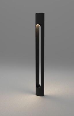 ProLuce® AURORA Pollerleuchte Ø80x610mm, 10W, silber