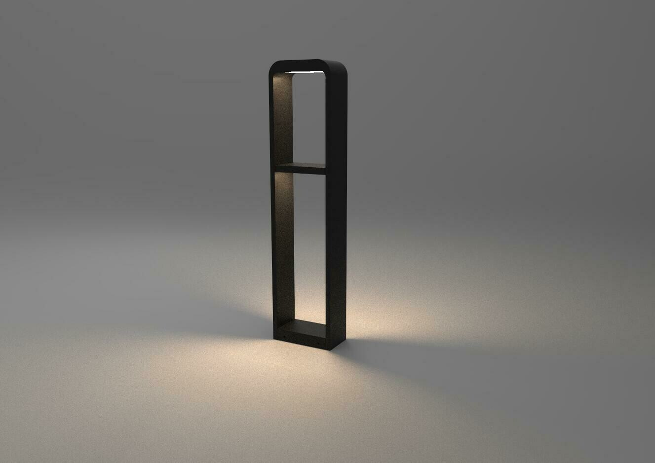 ProLuce® STELLA/D Pollerleuchte 192x100x800mm, 22W, schwarz