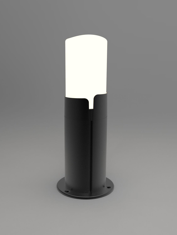 ProLuce® RUBY Pollerleuchte 140x140x350mm, 10W, silbergrau