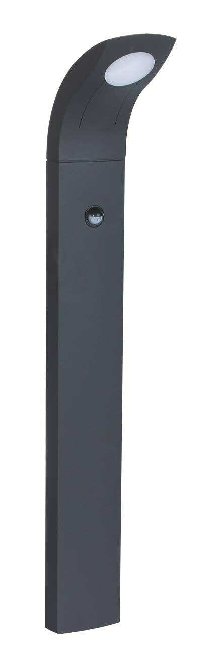 ProLuce® JESSICA Pollerleuchte 130x100x1000mm, 6W, silbergrau