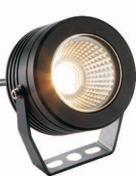 ProLuce® ELLIS Scheinwerfer Ø118x110mm, 9W COB, schwarz