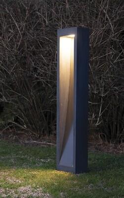 9010 Pollerleuchte MONO LED 10W, IP65, Corten, 1000 mm hoch