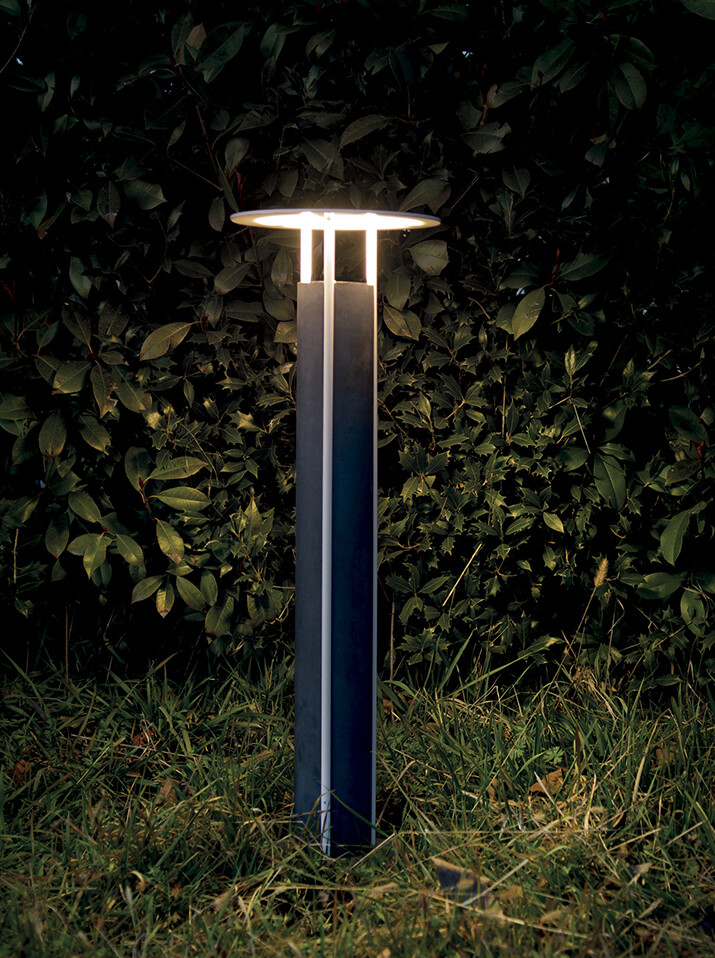9010 Pollerleuchte ERCOLE LED IP65, grün, 780 mm hoch