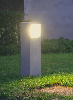 9010 Pollerleuchte 1111B LED 10W, IP65, Corten, 500 mm hoch