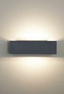 9010 Wandleuchte 1091B LED 10W, IP65, weiss