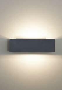 9010 Wandleuchte 1091B LED 10W, IP65, Corten