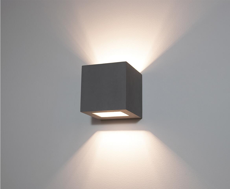 9010 Wandleuchte 1096B LED 10W, IP65, weiss