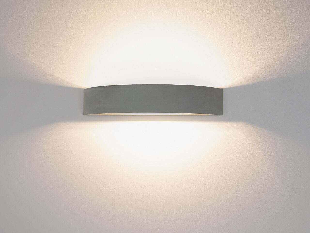 9010 Wandleuchte 1095B LED 10W, IP65, grau
