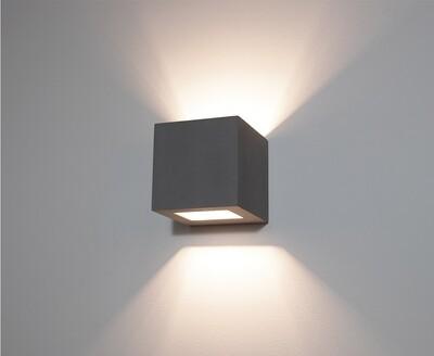 9010 Wandleuchte 1096B LED 10W, IP65, schwarz