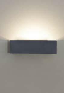 9010 Wandleuchte 1091 LED 10W, IP65, schwarz