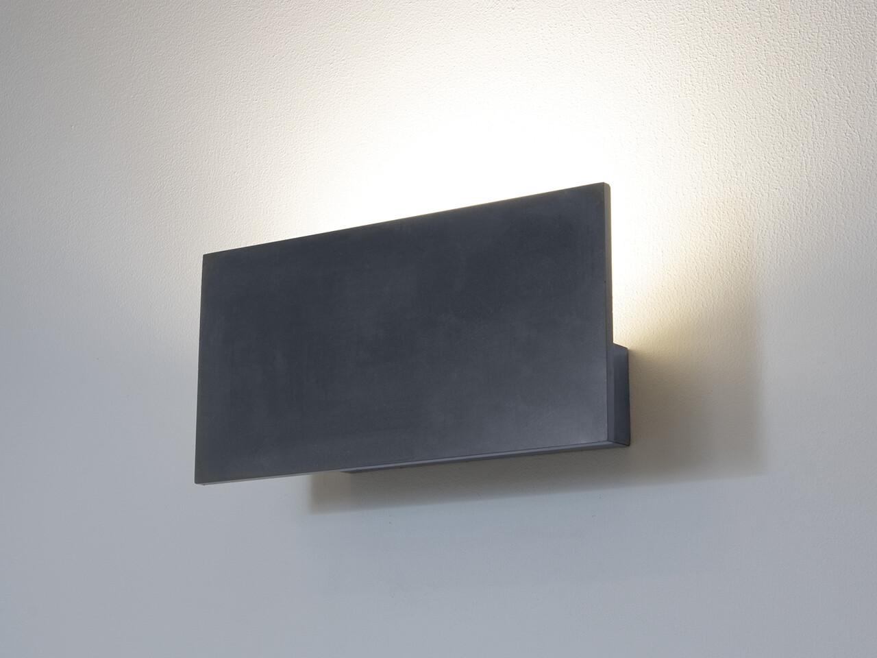 9010 Wandleuchte 1090 LED 10W, IP65, grau