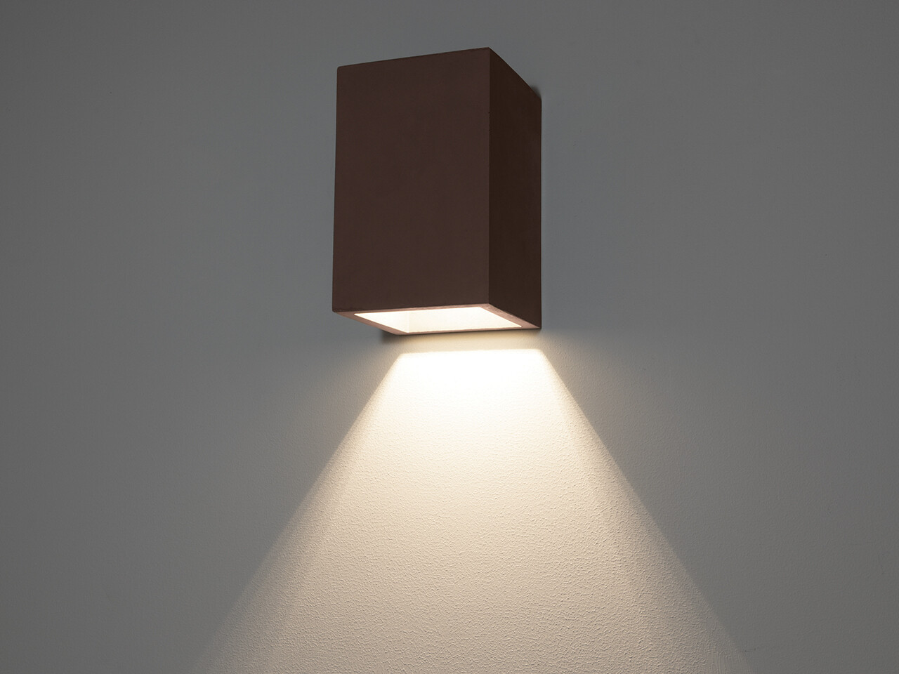9010 Wandleuchte 1097 LED 10W, IP65, schwarz