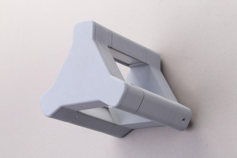 ProLuce® BONNIE Wandleuchte 135x152x360mm, 11W, silbergrau