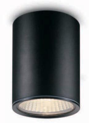 ProLuce® CEILING ROUND Deckenleuchte Ø 102x140mm, schwarz