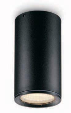 ProLuce® CEILING ROUND Deckenleuchte Ø60x115mm, schwarz