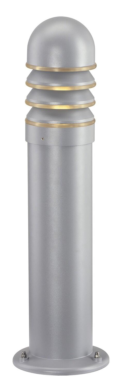 Pollerleuchte SLV NEW POL, Ø 150x760 mm, silbergrau
