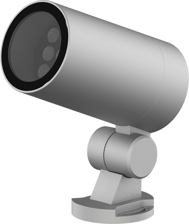 ProLuce® SERRA Aussenscheinwerfer 6W/15° 2700K, silber