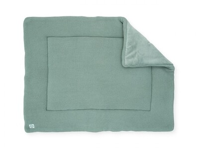 Basic Knit Boxkleed Forest Green