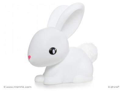 Fluffy Bunny white