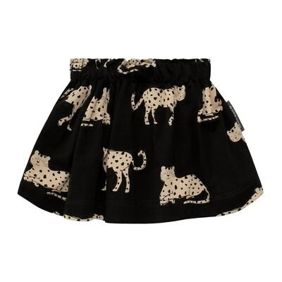 Wild Cheetah Skirt Print