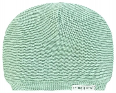 Rosita Knit Hat Grey Mint