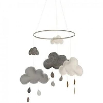 Cloud Mobile Grey