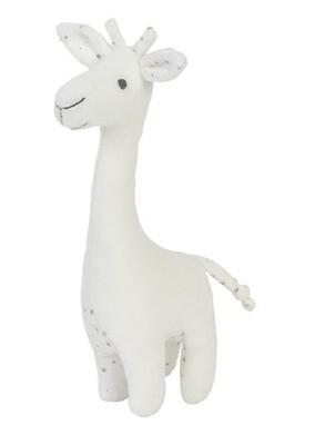 Giraffe Cuddle white