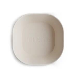 Mushie Bowl Square Ivory