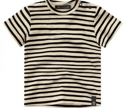 Stripes Nude SS Streep