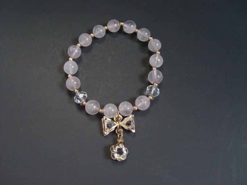 Natural Rose Quartz Bracelet