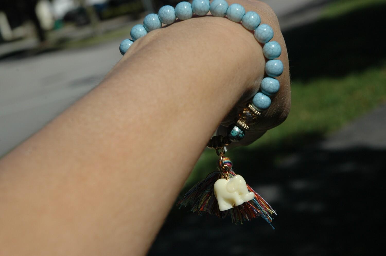 Charm Elephant Bracelet