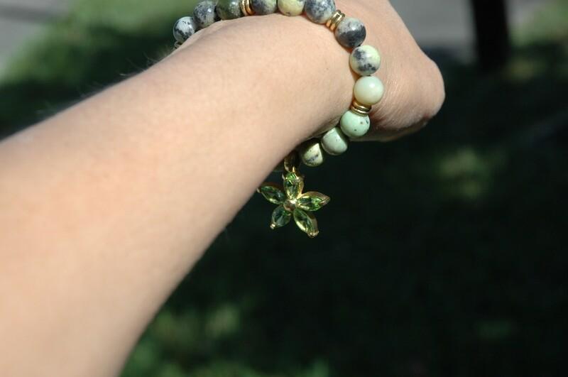 Peridot Green Bracelet