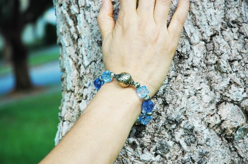 Blue Julie Bracelet