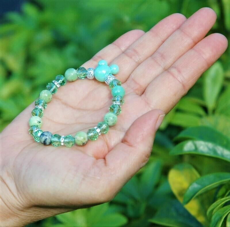 Green Mickey Head bracelet